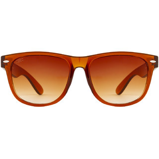 bbd5076c75 Buy Rozior Brown UV Protection Wayfarer Unisex Sunglasses Online - Get 80%  Off