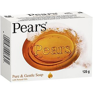Pears Pure Gentle With Natural Oil Soap (125g)