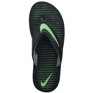 Nike men chorma v black flip flop