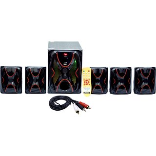 Barry John Home Theater 18500w Q8 With Fm Bluetooth Usb Aux And Mmc 5.1 Home Cinema