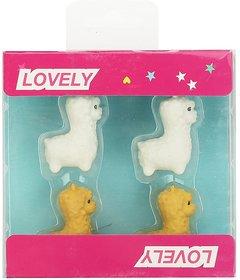 Smily Kiddos Smily Llama Eraser Set