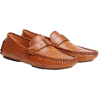 Rimoni Men's Brown Loafers
