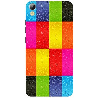 Back Cover for Mobiistar C1 (Multicolor,Flexible Case)