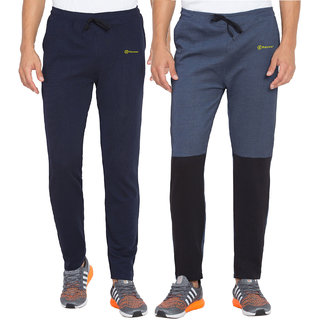 Haoser Mens Dri Fit Pack of 2 Trackpant for Gym and Running