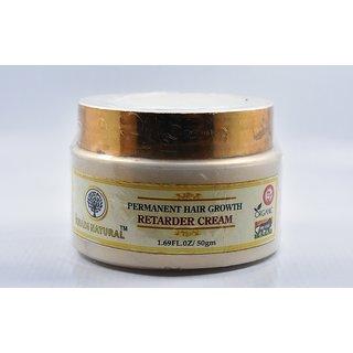 Khadi Natural Permanent Hair Growt Retarder Cream 50 gm - Paraben Free