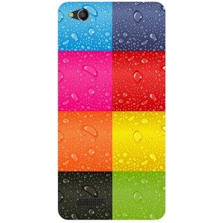 best website e9d2f e26dd Back Cover for Mobiistar CQ (Multicolor,Flexible Case)