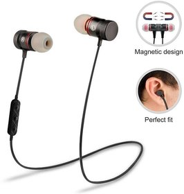 Vivo V11 Pro Compatible Magnetic Bluetooth Headset with 4.1 Technology High Quality Sound with Mic By GO SHOPS