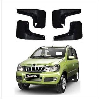 Trigcars Mahindra Nuvasport Car Mudflap Set Of 4 + Free Car Blutooth