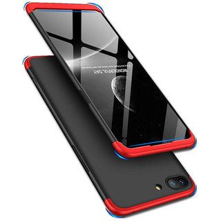 Oppo A3S CASE 360 Full Protection Matte Comfortable Grip EZ443 Oppo A3S RED