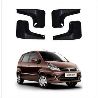 Trigcars Maruti Suzuki Zen Estilo Car Mudflap Set Of 4 + Free Car Blutooth