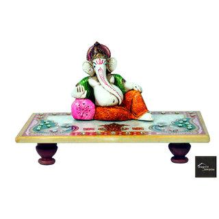 Ganesha Ganesh Ganpati Car Dashboard Idol God Showpiece