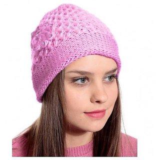 ch fashion Girls Woolen warm Cap for Ladies women  girls