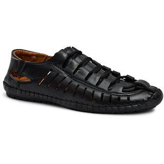 Roman Men Synthetic PVC Slip on Sandals
