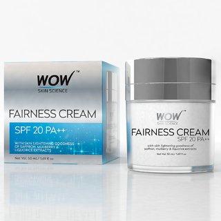 Wow Fairness Cream Spf 20 Pa++