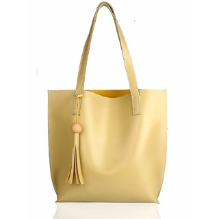 Mammon Women's Handbags(plain-beige,35x35 Cm)