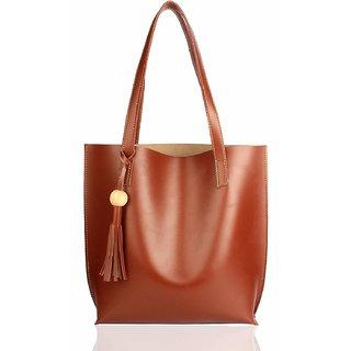 Mammon Women's Handbags(plain-Tan,35x35 Cm)