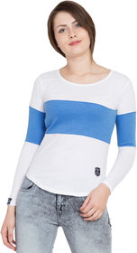 SBO Fashion Multicolor Full Sleeve Trendy T-Shirt 5249-Blue