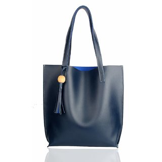 Mammon Women's Handbags(plain-Blue,35x35 Cm)
