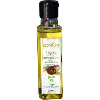 Econature Shankhpushpi with rudraksh hair oil 100 ml