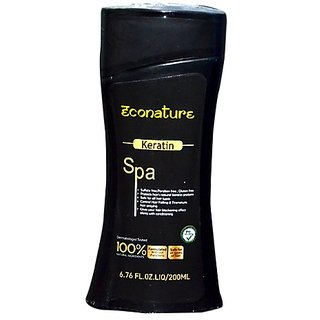 Econature Keratin Shampoo 200 ml
