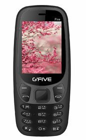 Gfive Fire Dual Sim Mobile Phone With 2.4-inch Display, 1800 mAh Battery, FM Radio, Bluetooth And Torch