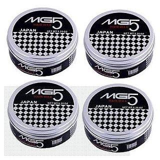 MG5 Smooth  Shinig  Hair Wax- Set Of 4