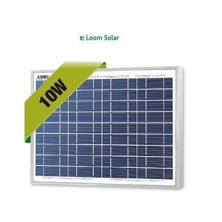 Loom solar panel 10 watt - 12 volt for mobile charging