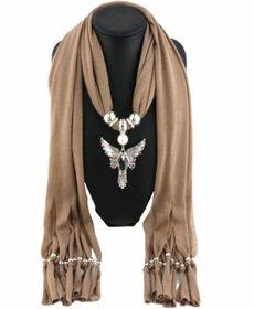 Women tassel scarf fringe long pendant