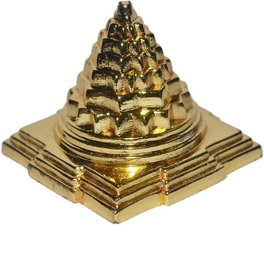 Gifts  Decor Meru Shree Yantra - Zinc - for Success, Wealth  Prosperity