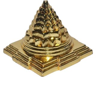 Gifts  Decor Meru Shree Yantra - Zinc - for Success, Wealth  Prosperity