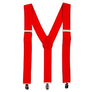 Y- Back Suspenders for Men(Red Color)