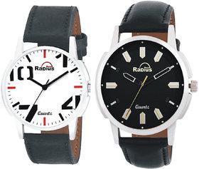 Radius Analog Premium Combo Pack Of 2 Watches For Men  Boy (R-41+50)