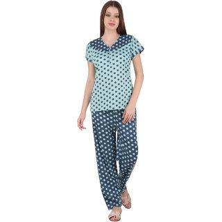 a441bb28d4 Buy Boosah Red Satin Plain Nightwear Sets - (Pack of 2) Online - Get ...