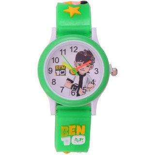 Kids watch B10 analog green spd
