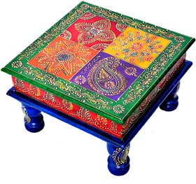 Beautiful Handcrafted Wooden Stool Home Decorative