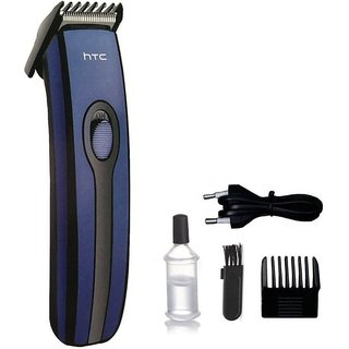 HTC AT-209 Pro Rechargeable Cordless Trimmer for Men(Blue)