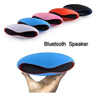 Fleejost Mini Rugby Style Bluetooth Speakers with USB and 3.5mm Audio
