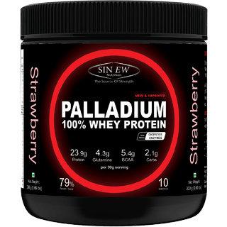 Sinew Nutrition Palladium Whey Protein 300g (Strawberry)