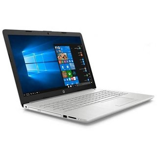 HP 15 DA0330TU  8TH GEN CORE i5 8250U/ 4  GB DDR4/ 1 TB HDD/ 15.6/ Windows 10  Silver Laptops