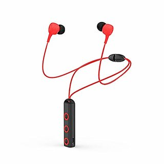 Bluetooth Headset ,Sport Running Headphone Bluetooth Earphone With Mic Stereo Earbuds For mobile phone (Red- BLBH 011)