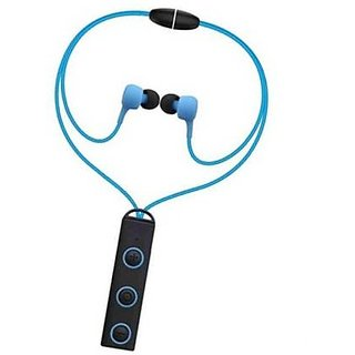 Bluetooth Headset ,Sport Running Headphone Bluetooth Earphone With Mic Stereo Earbuds For mobile phone (Blue- BLBH 011)