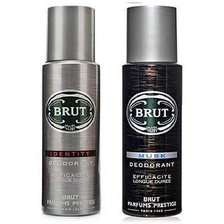 Brut Identity Musk Body Spray - For Men (200 Ml)