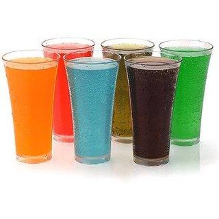 Somil Multi Purpose Beverage Tumbler Drinking Glass Set For Home & Bar Use ( Set Of 6) DR 17
