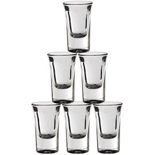 Somil Multi Purpose Beverage Tumbler Drinking Glass Set For Home & Bar Use ( Set Of 6) DR 23