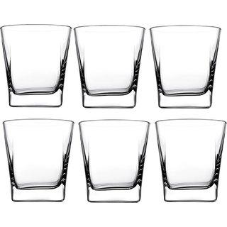 Somil Multi Purpose Beverage Tumbler Drinking Glass Set For Home & Bar Use ( Set Of 6) DR 06