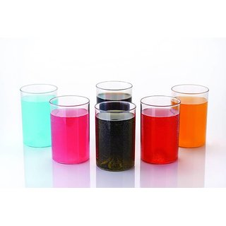 Somil Multi Purpose Beverage Tumbler Drinking Glass Set For Home & Bar Use ( Set Of 6) DR 11