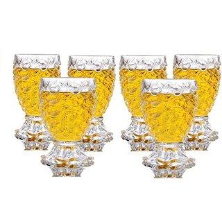 Somil Multi Purpose Shot Glass Set For Home & Bar Use ( Set Of 6) DR 15