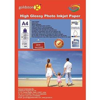 High Glossy Inkjet Photo Paper A4 180 20