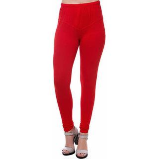 KSB Enterprises Women's Churidar Legging (Colour Red)