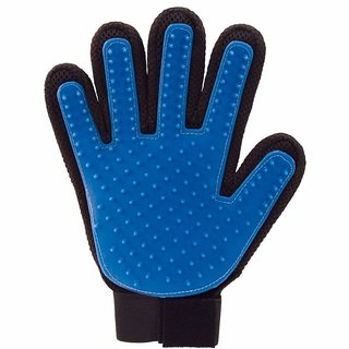 Pet Bathing Gloves Grooming Glove and Pet Shedding Hair Remover, Deshedding Bathing Cleaning Petting Massage Mitt for Do